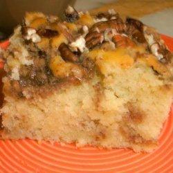 Cream Cheese Pecan Coffee Cake recipe