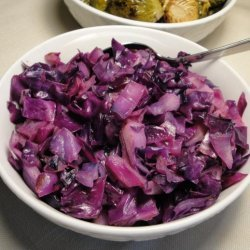 Braised Red Cabbage With Cinnamon recipe