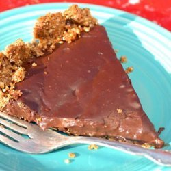 Chocolate Peanut Butter Tart recipe