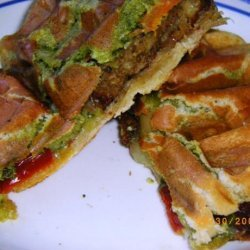 Pesto Sandwich Loaf recipe