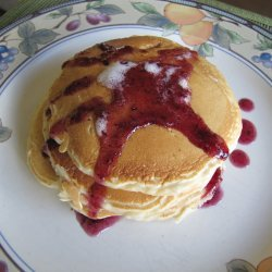 Banana Blueberry Pancakes recipe