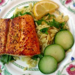 Orzo Salmon Salad recipe
