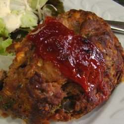 Vegetable Soup Meatloaf recipe