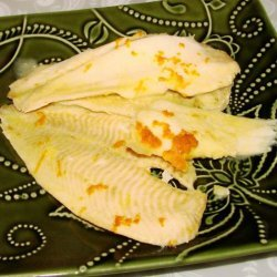 Baked Fish with Orange Sauce recipe