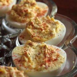 The Geezer's Deviled Eggs recipe