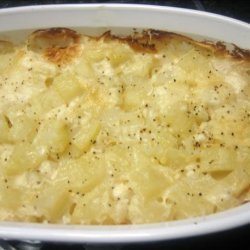 Baked Creamy Potato Casserole recipe
