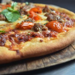 Sausage Pizza recipe