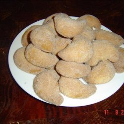 Almond Cinnamon Crescents recipe