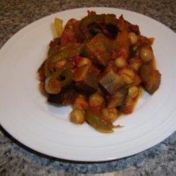Stewed Chickpeas recipe