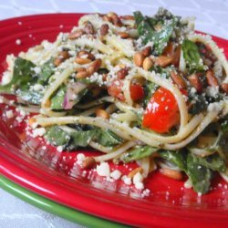 15 Minute Florentine Pasta Salad recipe