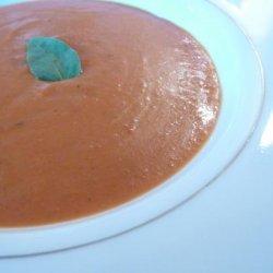 Creamy Tomato Basil Soup (Oamc) recipe