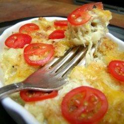 Crab Meat Au Gratin recipe