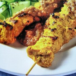 South China Morning Post 1963 - Authentic Chicken Satay Skewers recipe