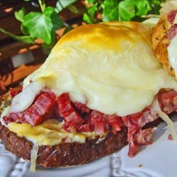 Open Faced Reubens recipe