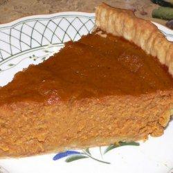 Harvest Pumpkin Pie recipe