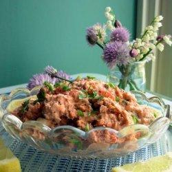 Salmon Party Spread recipe