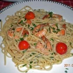 Tyler Florence's Shrimp Scampi With Linguine recipe