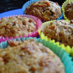 Even Healthier Morning Glory Muffins recipe