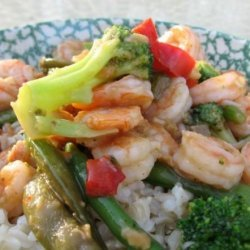 Simple Shrimp Stir Fry recipe