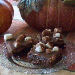 Peanut Butter Chocolate S'mores Fudge Cake recipe