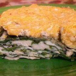 Spinach Cheese Bake recipe