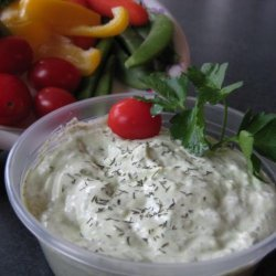 Dill Dip for Weight Watchers recipe