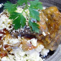 Lamb Shanks with Oregano and Feta recipe