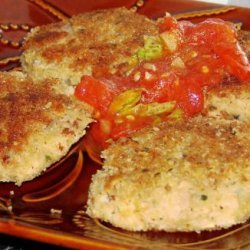Tuna Patties With Marinara Sauce recipe