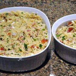 Chicken Feta and Orzo Salad recipe