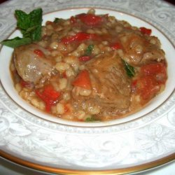 Crock Pot Lamb Stew With Barley recipe