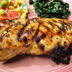 Grilled Marinated Chicken recipe