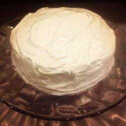 Dominican Meringue Cake Frosting (Suspiro) recipe