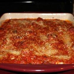 Baked Meatball Lasagna recipe