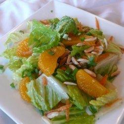 Mandarin Orange Chicken Tossed Salad recipe