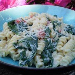 Florentine Pasta Toss recipe