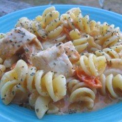 Chicken Penne Al Fresco recipe