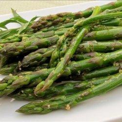 Asparagus With Lemon and Tarragon recipe