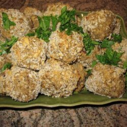 Oven Fried Lentil Balls recipe
