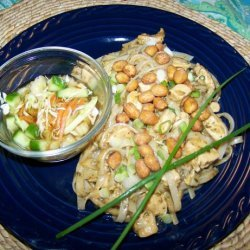 Kung Pao Noodles and Chicken recipe