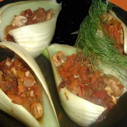 Vegetable Stuffed Fennel Bulbs recipe