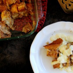 Bread Pudding with Bourbon Sauce recipe