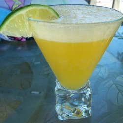 Peachy Mango Margarita recipe