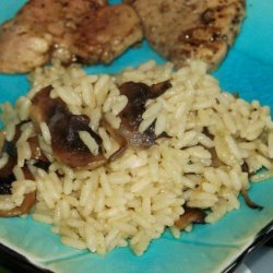 Rice Pilaf With Mushrooms recipe