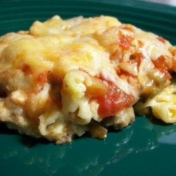 Macaroni and Cheese Taco Bake recipe