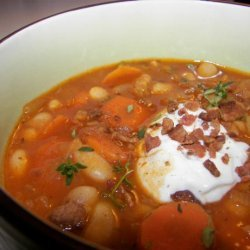 Red Bean and Bacon Soup recipe