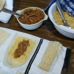 Good Eats Hot Tamales (Alton Brown 2009) recipe