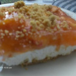 No Bake Peach Cheesecake recipe
