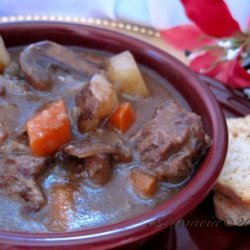 Herb Simmered Beef Stew recipe