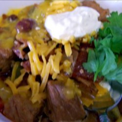 Spicy Pork and Bacon Chili recipe