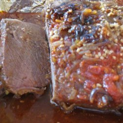 Annie's Sweet and Sour Baked Brisket recipe